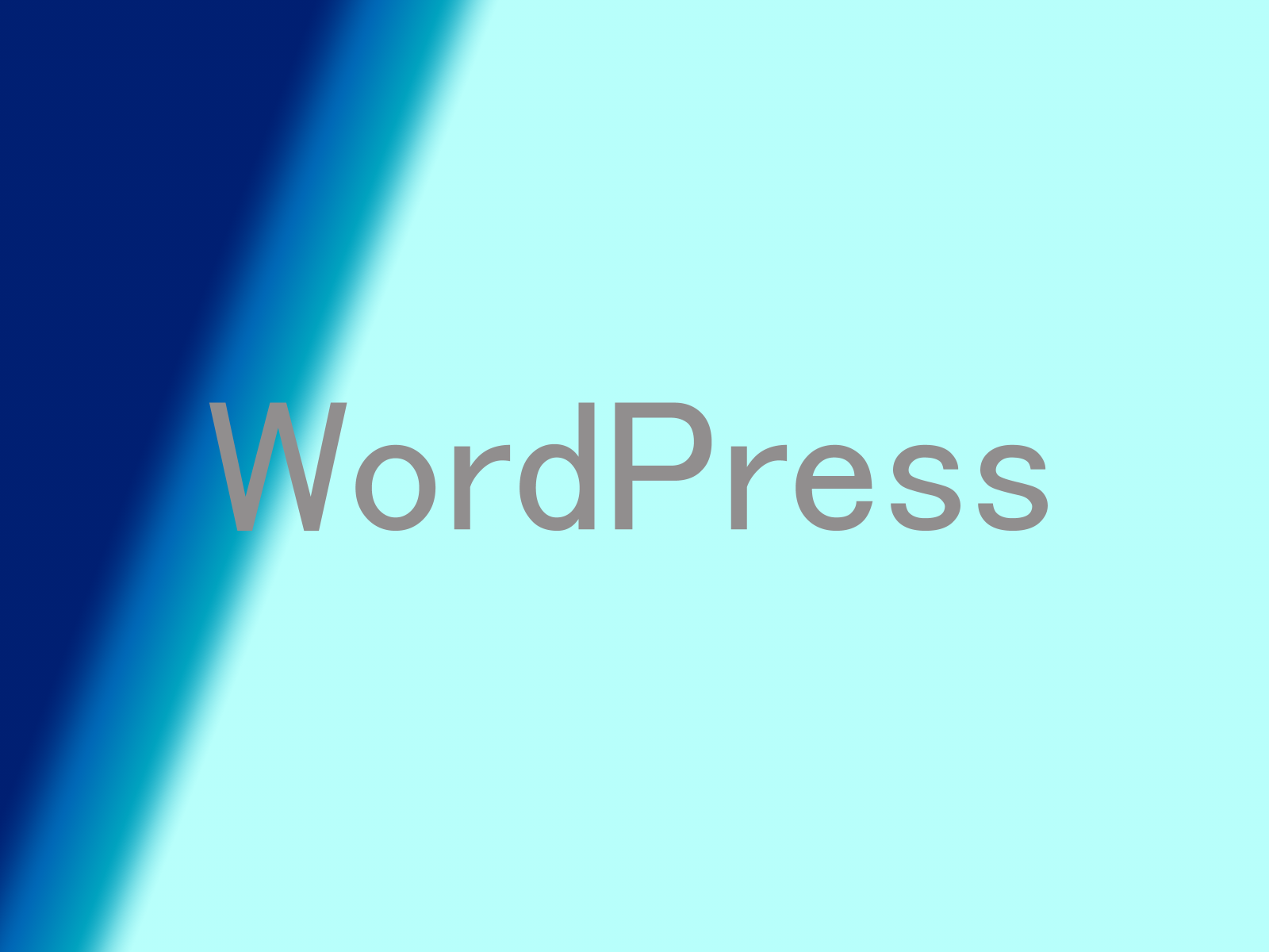 WordPressのイラスト