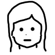 女の子の顔 例