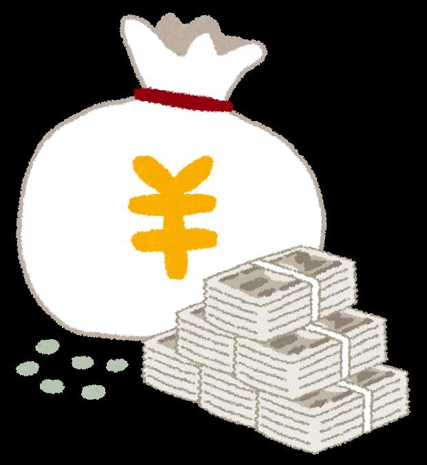 円のお金袋